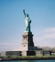 The Statue of Liberty(アメリカ)
